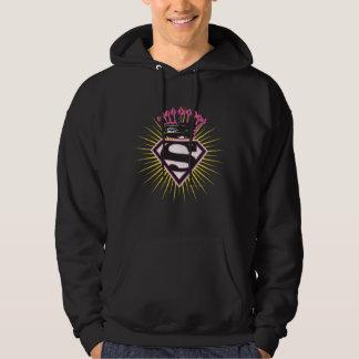 Supergirl Logo with Crown Hoodie
