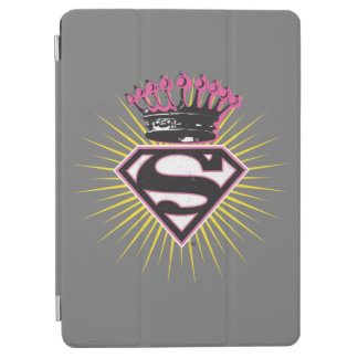 Supergirl Logo with Crown iPad Air Cover