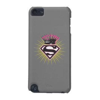 Supergirl Logo with Crown iPod Touch 5G Cases