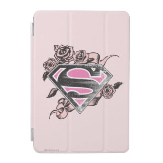 Supergirl Logo with Roses iPad Mini Cover