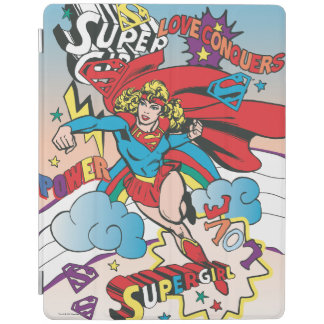 Supergirl Love Conquers iPad Cover