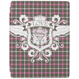 Supergirl Love Crest iPad Cover