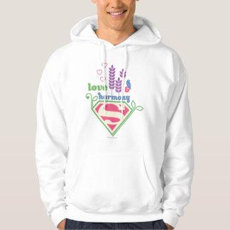 Supergirl Love & Harmony Hoodie