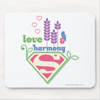 Supergirl Love & Harmony Mouse Mat