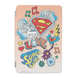 Supergirl Love iPad Mini Cover