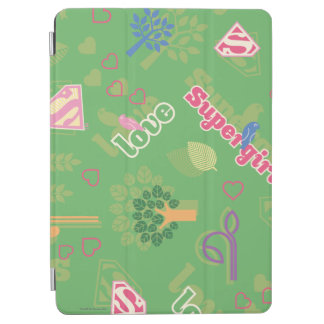 Supergirl Love Pattern iPad Air Cover