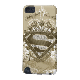 Supergirl Metropolis Ballet Brown iPod Touch 5G Covers