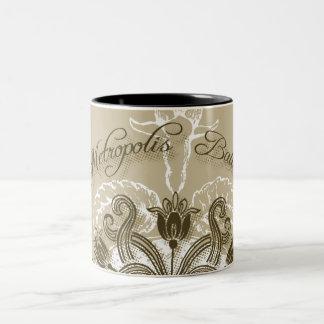 Supergirl Metropolis Ballet Brown Two-Tone Coffee Mug