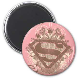 Supergirl Metropolis Ballet Pink 6 Cm Round Magnet
