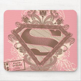 Supergirl Metropolis Ballet Pink Mouse Mat