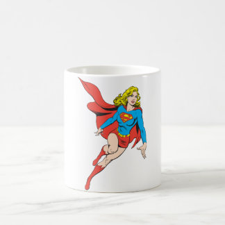 Supergirl on the Move Coffee Mug