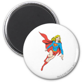 Supergirl on the Move Magnet
