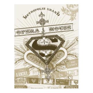 Supergirl Opera House Postcard
