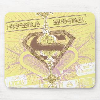 Supergirl Opera House Yellow Mousepad