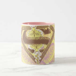 Supergirl Opera House Yellow Two-Tone Coffee Mug