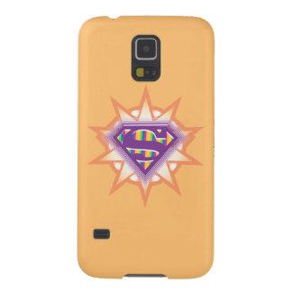 Supergirl Orange Starburst Galaxy S5 Case