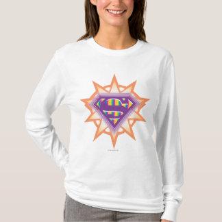 Supergirl Orange Starburst T-Shirt
