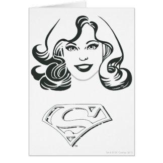 Supergirl Outline 1 Card
