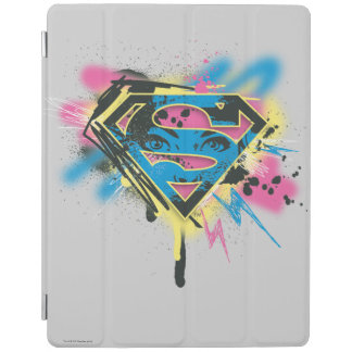 Supergirl Paint and Spills iPad Cover