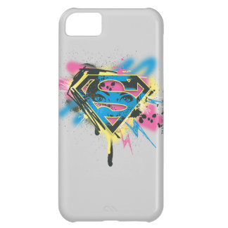 Supergirl Paint and Spills iPhone 5C Case