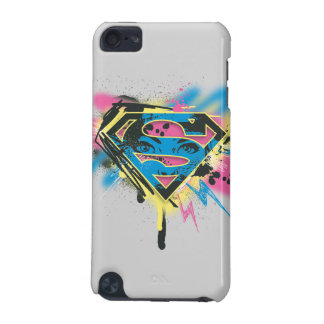 Supergirl Paint and Spills iPod Touch 5G Case