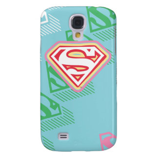 Supergirl Pastel  Repeat Pattern Galaxy S4 Case