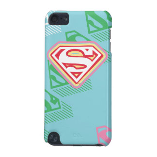 Supergirl Pastel  Repeat Pattern iPod Touch 5G Case