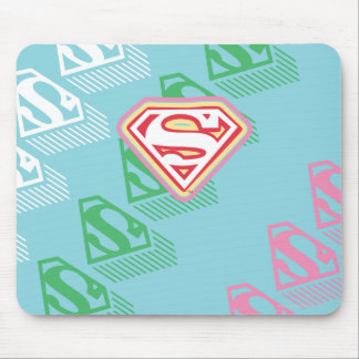 Supergirl Pastel  Repeat Pattern Mouse Mat
