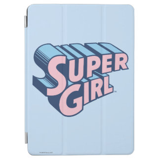 Supergirl Pink and Blue Logo iPad Air Cover
