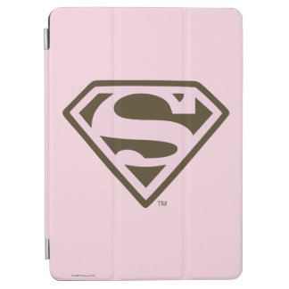 Supergirl Pink and Brown Logo iPad Air Cover