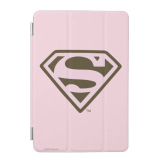 Supergirl Pink and Brown Logo iPad Mini Cover