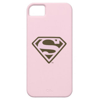 Supergirl Pink and Brown Logo iPhone 5 Cover