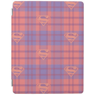 Supergirl Pink and Purple Pattern iPad Cover