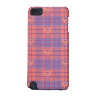 Supergirl Pink and Purple Pattern iPod Touch (5th Generation) Covers