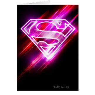 Supergirl Pink Card