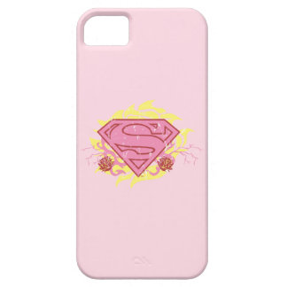 Supergirl Pink Flowers iPhone 5 Cover