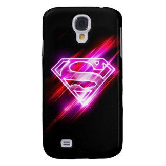 Supergirl Pink Galaxy S4 Case