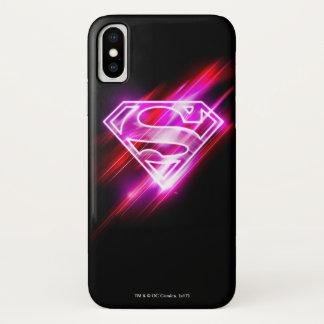 Supergirl Pink iPhone X Case