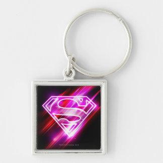 Supergirl Pink Key Ring