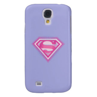 Supergirl Pink Logo Galaxy S4 Case