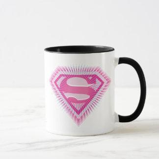Supergirl Pink Logo Mug