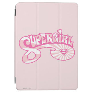 Supergirl Pink Logo Star Burst iPad Air Cover