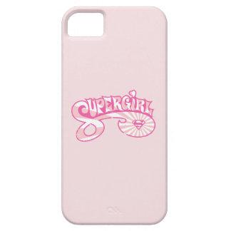 Supergirl Pink Logo Star Burst iPhone 5 Cover