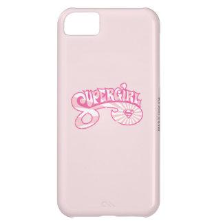 Supergirl Pink Logo Star Burst iPhone 5C Case