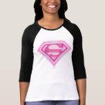Supergirl Pink Logo Tee Shirts