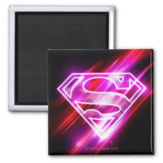 Supergirl Pink Magnet