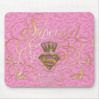 Supergirl Pink Mouse Mat