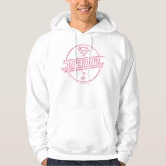 Supergirl Pink Music Note Hoodie