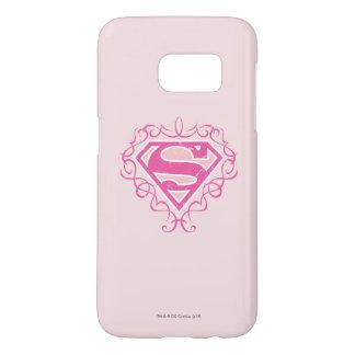 Supergirl Pink Stripes