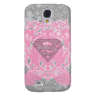 Supergirl Pink Winged Design Galaxy S4 Case
